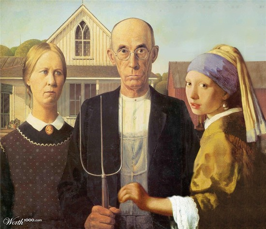 American Gothic, with a twist