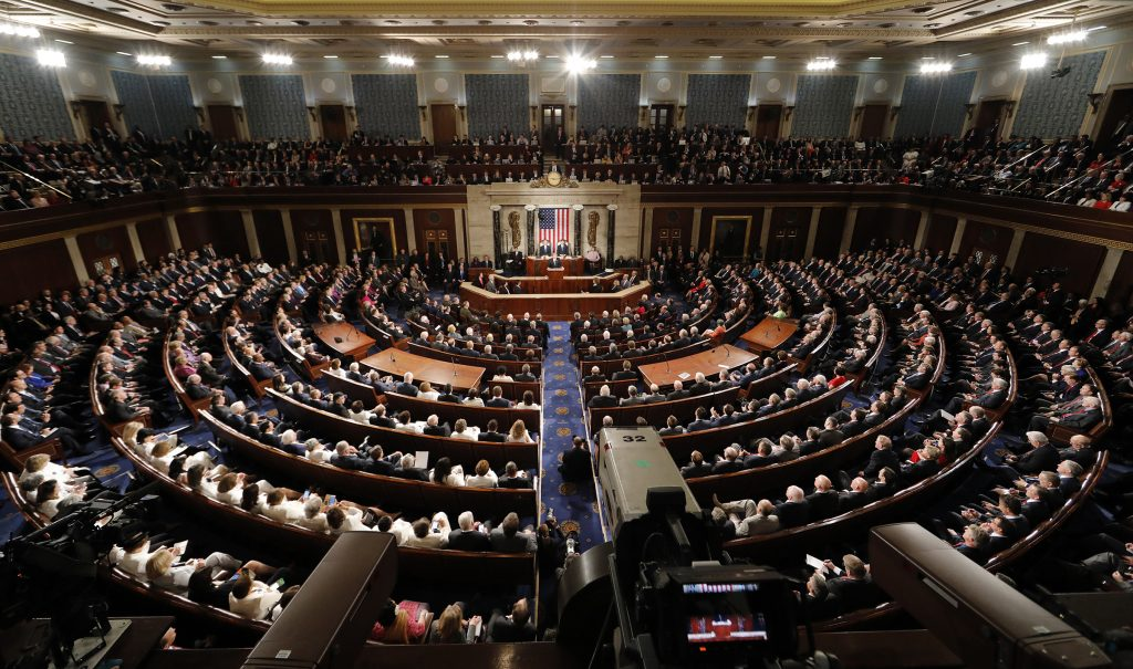 U.S. Congress in Joint Session